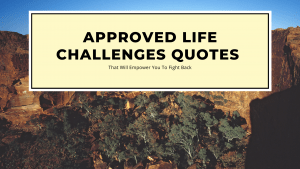 Life Challenges quotes that help you to fight back