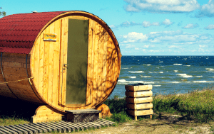 Sauna at the baltic sea - sauna is a secret for super agers