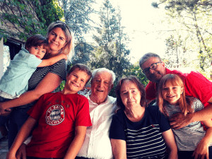 Ageing Gracefully with family