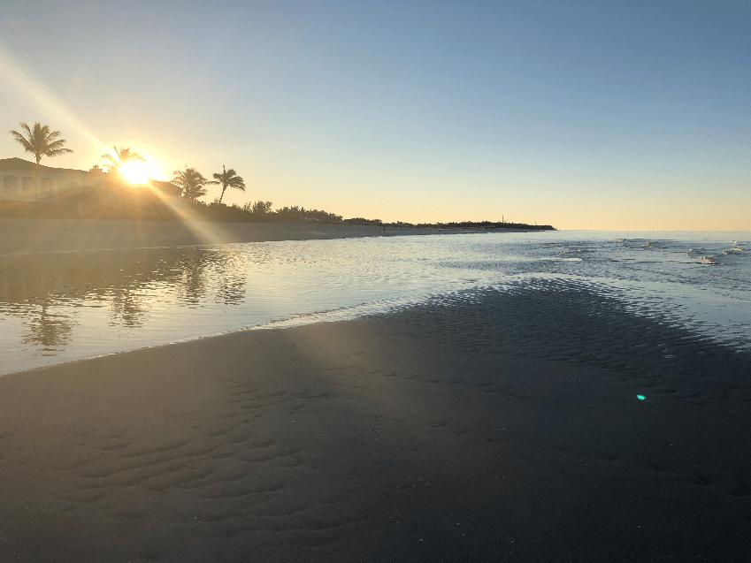 Turner Beach facing South